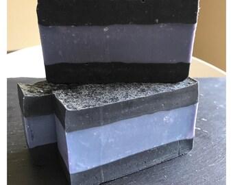 Activated Charcoal Soap, Organic Soap, Cold Process, Vegan Soap, Handmade Soap