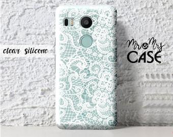 Nexus 5X-Black&White Lace-LG Harmony-Lg V10-Lg G6-Lg Grace-Lg G3 Mini-Lg G2-Lg G4-cover Lg G4 Stylus-Nexus 5X-Lg G4 Pro-Lg G5-Lg K4-Lg K8