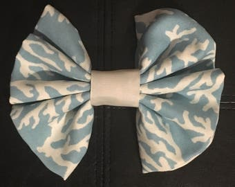 Blue Coral Bow
