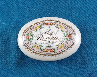 Music Box Collection Melodies of Love Franklin porcelain My Reverie from Debussy