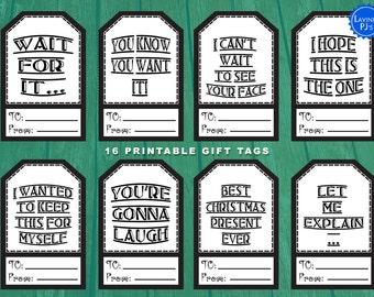 16 Printable Christmas Tags
