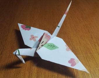20 Origami Crane Wedding Favors Baby Girl P1/6