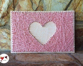Box heart pink