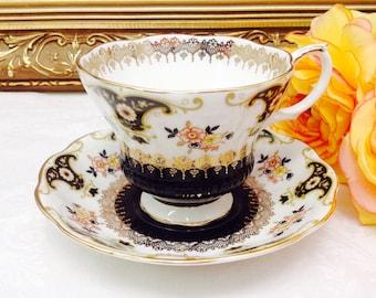 Royal Albert Dorchester series teacup and saucer.