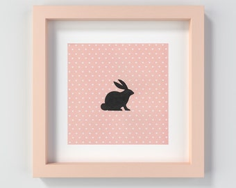Nursery Art, Baby Shower Gift, Bunny Print, Nursery Decor, Nursery Print, Printable Nursery Art, Baby Girl Decor, Bunny Wall Art, Cute Art