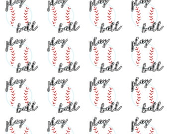 Baseball Planner Stickers/Play Ball Planner Stickers