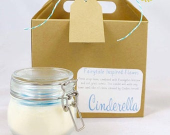 Disney Inspired ~ Cinderella Candle