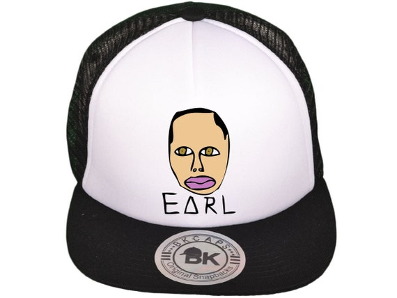 Earl Sweatshirt Trucker Snapback hat Golf Wang, Odd Future, Frank Ocean, Tyler The Creator