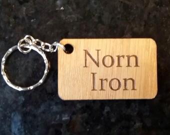 Norn Iron Oak keyring