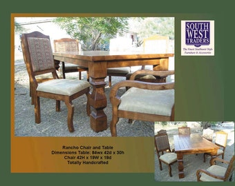 Rancho Table and chairs