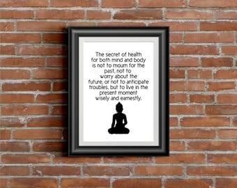 Buddha - DIGITAL PRINT