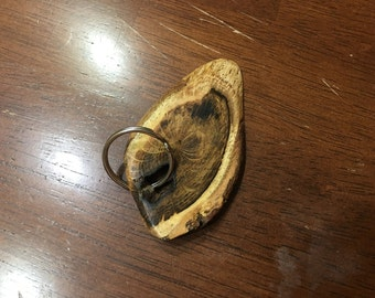 Hardwood Ash Key Chain