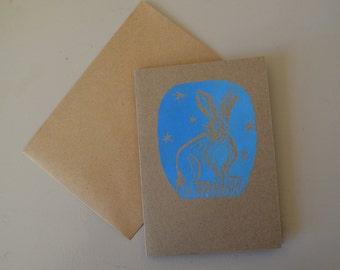 Arctic Hare Card