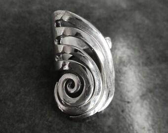 SPIRAL fork ring size 6 3/4