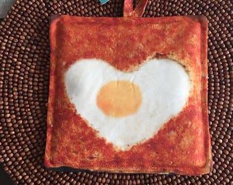 Egg (Only) pot Holder /kitschy/Kitchen Decor