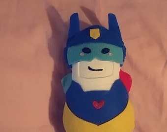 Transformers Rescue Bots Chase Felt Plush