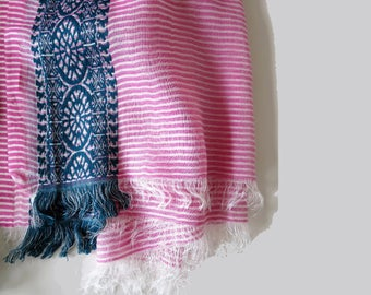 Cotton printed summer scarf