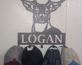 Personalized coat/hat rack