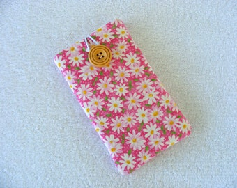 """Daisies Print IPhone Case, IPhone Case, IPhone Cover, IPhone 6 Cover, IPhone 7 Cover, Cell Phone Case, Cell Phone Cover, 6 1/2""""  x 3 1/2"""""""
