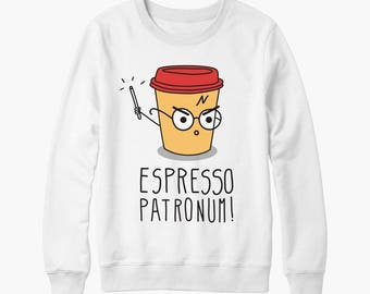 Harry Potter Espresso Patronum birthday gift sweater