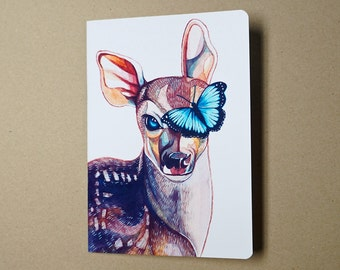 Life Is Strange Notebook (Deer & Butterfly, Din A5)