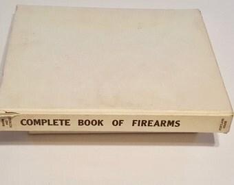 Complete Book of Firearms, Origin,  Design,  and Developement Reference Sergio Masini, 1988 Hardcover, Gun Reference Book, Firearms Book