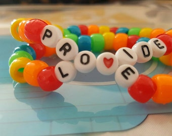 Provide love kandi bracelet