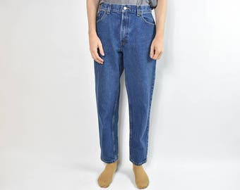 Vintage Blue Levis 550 High Waisted Denim Jeans