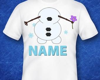 frozen,olaf shirt, olaf gift, olaf costume, olaf birthday