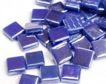 12mm Mosaic Craft Tiles - Wisteria Pearlised - 50g