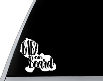 Baby on Board Decal | Vinyl Decal Baby on Board | Baby on Board Sticker | Cup Decal Baby on Board | Car Decal Baby on Board |