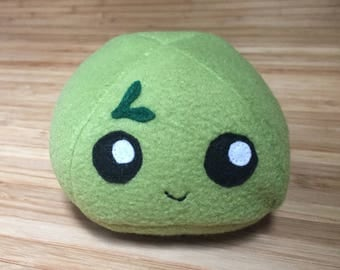 Kawaii Friend Green Tea Mochi, Green mochi plush, Japanese food plush, Anime toy, Kawaii plushie, Dango plush, Anime food plush, Anime plush