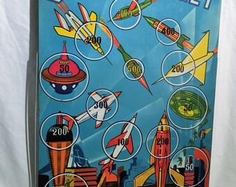 Tin Litho Space Target