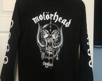 Motorhead long sleeve mens T shirt.