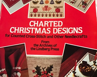 Charted Christmas Designs for counted cross stitch