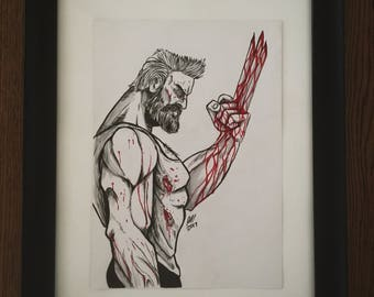 Logan Ink artwork (Original A4)