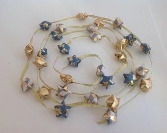 Garland gold stars