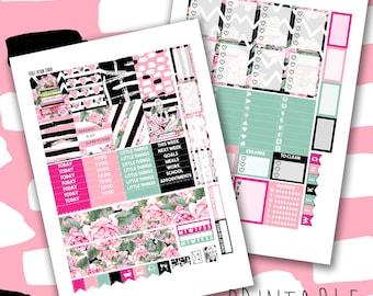 SALE 50% Off! Glam Booklover | Printable | Planner Sticker Kit for the Erin Condren Life Planner