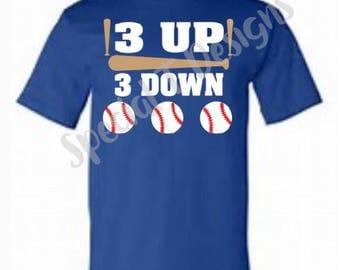 Baseball- 3 up 3 down