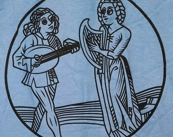 Lutist and Harpist - T shirt