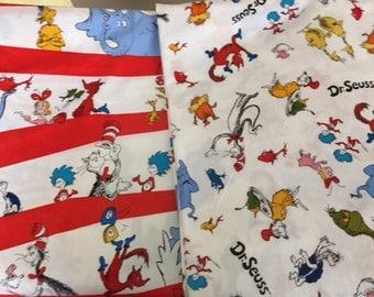 Dr. Seuss Cotton Fabric Set