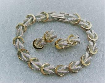 Demi Parure Bracelet & Earrings  Set