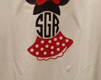 Minnie Monogrammed shirt