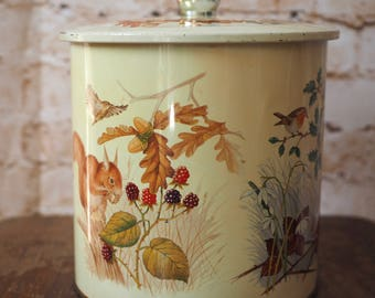 Woodland Vintage Biscuit Barrell