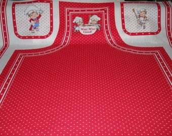 Campbell's Soup Apron Panel