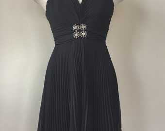 Marilyn Monroe Dress in Black with Bling