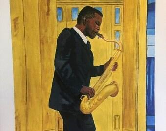 New Orleans Jazz Saxophone