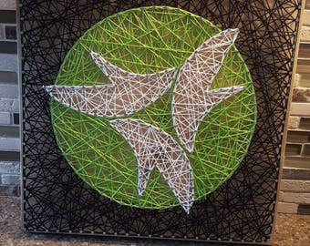 IT WORKS Nail String Art