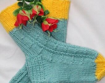 Socks, hand knitting
