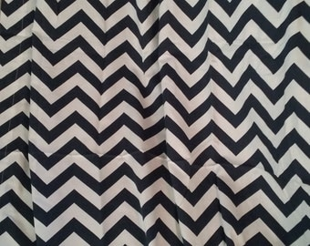 Bedroom Curtains, Window Curtains, Navy Blue Chevron, Chevron Curtains,  Blue Curtains,